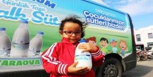 Çocukların halk süt sevinci