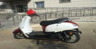 Çaldığı motosikletle beraber yakalandı