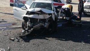 Elazığ'da trafik kazası