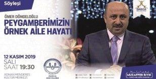 İlahiyatçı yazar Döngeloğlu Darıca'da Peygamberimizin hayatını anlatacak