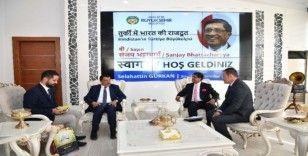 Hindistan Büyükelçisi'nden Malatya Büyükşehir Belediyesi'ne ziyaret