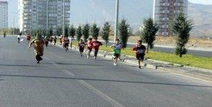 Kayseri'de ağlatan koşu