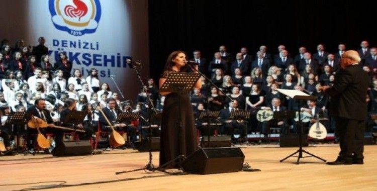Büyükşehir konservatuvarı Atatürk'ün sevdiği şarkıları seslendirdi