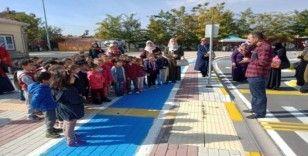 Minikler Trafik Eğitim Parkını gezdi
