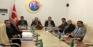 KUDAKA 116. Yönetim Kurulu Toplantısı, Bayburt Valisi Epcim başkanlığında yapıldı