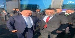 Bağlar Belediyespor Başkanı Merdoğlu, TFF Başkanı Özdemir'le görüştü