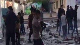 Gazze'de İsrail saldırısı nedeniyle BM okulu ağır hasar gördü