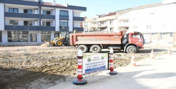 Kemalpaşa Mahallesinde 88 araçlık otoparkın yapımı sürüyor