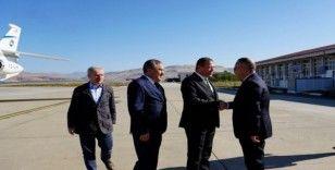 Bakan Yardımcısı Tancan, Vali Atik'i ziyaret etti