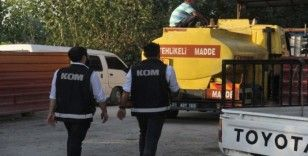 "Adana'da ""10 numara"" yağ operasyonu"