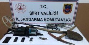 Siirt'te sit alanda izinsiz kazı yapan 5 kişi yakalandı