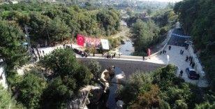 Tarihi Batıayaz Köprüsü restore edildi