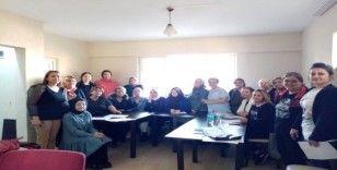 İŞKUR ile Kilimli HEM protokolüyle saç yapım ve bakımı kursu açıldı