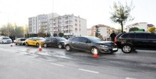 Sorgun'da zincirleme trafik kazası