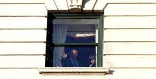 Cumhurbaşkanı Erdoğan, ABD'de vatandaşları selamladı