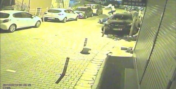(Özel) İstanbul'da feci kaza kamerada