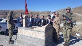 1959 yılında şehit düşen Ispartalı çavuşun mezarı yeniden yapıldı