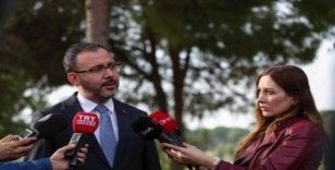 Bakan Kasapoğlu: 'Proje desteği bütçesini arttıracağız'