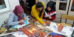 Hisarcık'ta 3 Boyutlu Şekillendirme Kursu