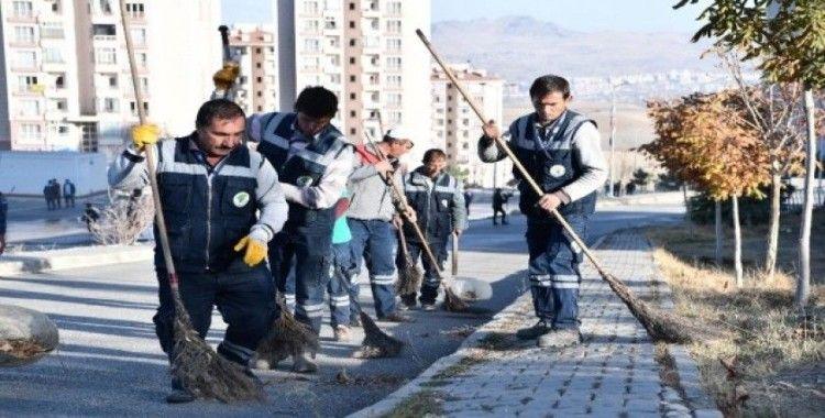 Temizlik avcıları iş başında