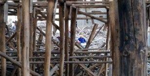 Gaziantep'te cami inşaatında iskele çöktü: 1 işçi kayıp