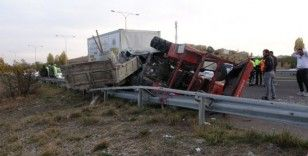 Başkent'te feci kaza: 1 ölü, 2 yaralı