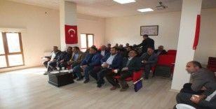Malazgirt'te 'Bilgilendirme ve Değerlendirme' toplantısı