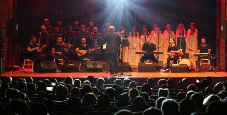 Antakya Medeniyetler Korosu Kayseri'de konser verdi