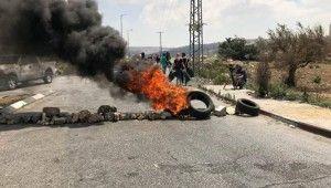 Batı Şeria'da şiddetli çatışmalar