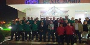 Çarşambaspor Futbol Akademisi yemekte buluştu