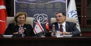 KDK Başkanı Şeref Malkoç, KKTC Ombudsman heyetini ağırladı