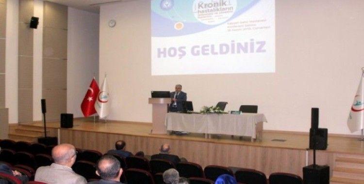 Türkiye'nin duayenleri Kayseri Şehir Hastanesi'nde