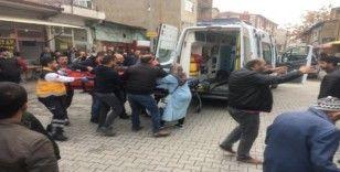 Konya'da silahlı kavga: 1 yaralı