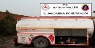 Batman'da 12 bin litre kaçak motorin ele geçirildi