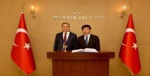 Vietnam Büyükelçisi Tran Quang Tuyen'den Vali Su'ya ziyaret
