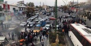 İran'da benzin protestolarında biri polis iki kişi öldü