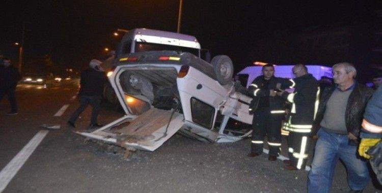 Tavşanlı'da trafik kazası: 6 yaralı