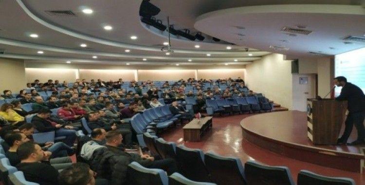 Eskişehir'de özel ve kamu güvenlik görevlilerine eğitim