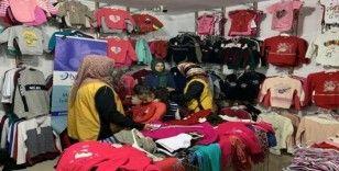 Kahta'da 100 yetim ve fakir öğrenci giydirildi