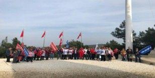 Türk Eğitim-Sen, şehit öğretmenleri unutmadı