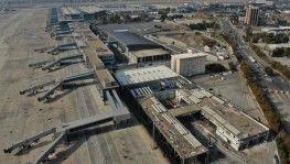 Atatürk Havalimanı'nda yıkım işlemlerine başlandı
