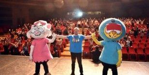 Beşiktaş'ta lösemili çocuklara 'Kral Şakir'den destek