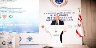 """Girne'de """"Yeni Dünya Düzeni: Doğu Akdeniz'de Mavi Savaşlar Konferansı"""""""