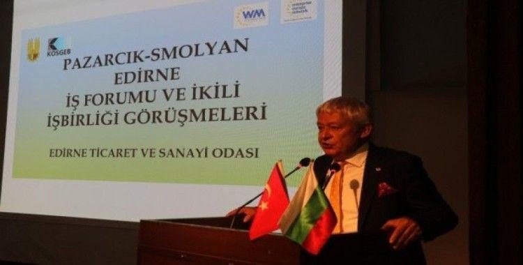ETSO 100 farklı Bulgar ve Türk firmasını Edirne'de buluşturdu