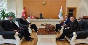 Bölge Müdürü Çetiner'den Başkan Geylani'ye ziyaret