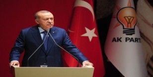 Cumhurbaşkanı Erdoğan: 'AK Parti'nin sahibi millettir'