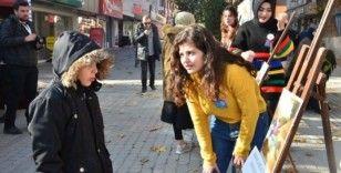 DPÜ öğrencilerinden 'Dünya Çocuk Hakları Günü' etkinliği