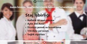 Anadolu Üniversitesi Turizm Fakültesi'nden Almanya'da staj imkânı