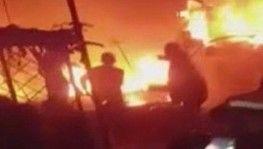 İdlib'te sivillerin bulunduğu kampa füze saldırısı