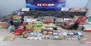 Çanakkale'de 'gümrük kaçağı ürün' operasyonu